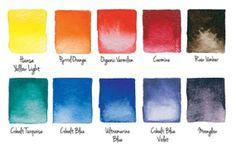 "DANIEL SMITH Watercolor Joseph Zbukvic ""The Must List"" Primary Set from Daniel Smith Art Supplies"