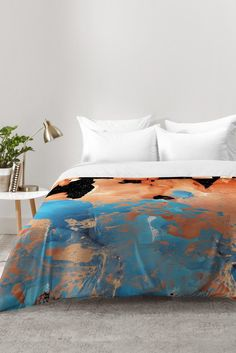 Amy Sia Marble Inversion II Comforter | DENY Designs Home Accessories