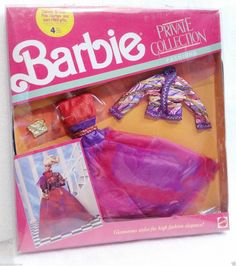 Very RARE 1988 Barbie Private Collection Fashions NRFP Beautiful and RARE | eBay