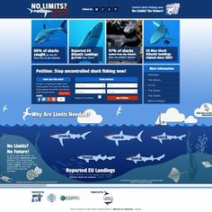 We've been working with the Shark Trust UK on the 'No Limits? No Future!' campaign, find out more on our blog http://www.dv8media.co.uk/blog/2014/06/shark-trust-limits-future-campaign/