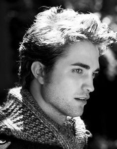 I'm a huge anti-Twilight person, but I have to admit, Robert Pattinson is still pretty attractive here. (Just remember, he was Cedric Diggory first!)