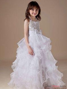 Выкройки и фото детских платьев помогут создать гардероб маленькой принцессы. 20 фотографий