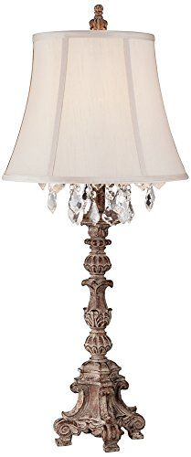Duval French Crystal Candlestick Table Lamp Barnes and Ivy https://www.amazon.com/dp/B00PW7MKYU/ref=cm_sw_r_pi_dp_U_x_cO2aBbFFE1PRS