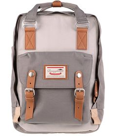 Doughnut's Macaroon backpack is equally as stylish as it is practical. The internal organizer panel and padded laptop sleeve add function while the contrasting details offer a sweet aesthetic. The Macaroon backpack is completed with a moisture-wicking ext
