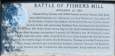 The Battle of Fisher's Hill Circle Tour markers