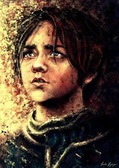 Arya Stark. by slashaline.deviantart.com on @deviantART