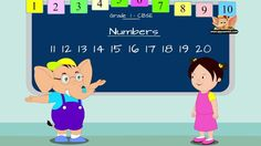 Grade 1 - Learn Maths - Numbers From 11 to 20