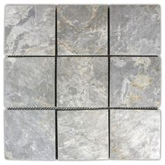 Light Grey x Stone Mosaic Tile - Pebble Tile Shop Stone Mosaic Tile, Mosaic Glass, Mosaic Tiles, Pebble Tiles, Mosaics, Stained Glass, Wall And Floor Tiles, Wall Tiles, Yellow Marble