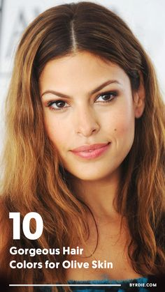 From Caramel to Mocha: The Most Flattering Hair Colors for Olive Skin Von Karamell bis Mokka: Die sc Olive Skin Blonde Hair, Haircolor For Olive Skin, Red Hair Tan Skin, Olive Skin Makeup, Ash Hair, Blue Hair, Gorgeous Hair Color, Cool Hair Color, Hair Colors
