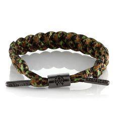 Rastaclat Forest Camo Bracelet