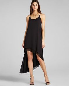BCBGMAXAZRIA Tank Dress - Lienna Double Layer from Bloomingdale's on Catalog Spree