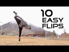10 Flips Anyone Can Learn - Flip Progressions - YouTube