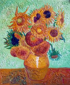Van Gogh SunFlowers - Fine Art Oil Painting Gallery