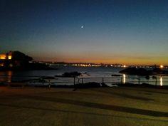 Anochecer con vistas a La Coruña