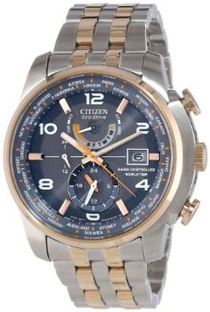 Citizen Men's AT9016-56H World Time A-T Eco-Drive 26 Time Zones Watch
