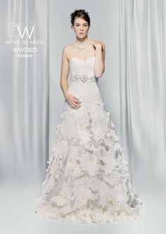 Ophelia Contessa - WWG820 White Wedding Dresses, Fairytale, One Shoulder Wedding Dress, Clothes, Fashion, Fairy Tail, Moda, Fairytail, Clothing