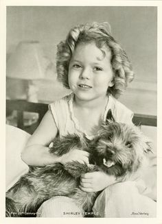 Shirley Temple. Watched all her movies growing up. One of my faves!