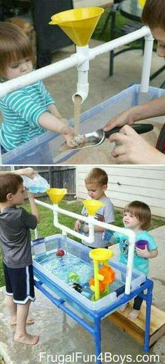 PVC fun for sand or water sensory table