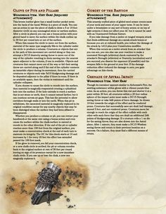 MAgnificent Magic Items by Vecna_Is_My_Co-Pilot Part 1