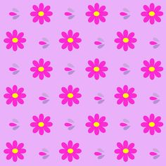 FREE printable bright daisy pattern papers