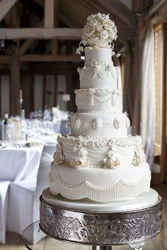 White Wedding Cakes old fashioned wedding cake 53 - 49 Beautiful Old Fashioned Wedding Cake Ideas Amazing Wedding Cakes, White Wedding Cakes, Elegant Wedding Cakes, Wedding Cake Designs, Wedding Cake Toppers, Luxury Wedding Cake, Ivory Wedding, Trendy Wedding, Perfect Wedding