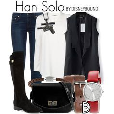 cosplay disney bound han solo star wars
