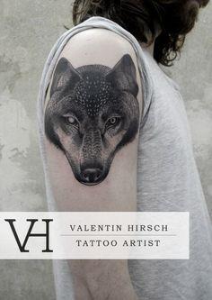 Valentin Hirsch, Tattoo Artist - The VandalList Tatoo Art, Tattoo You, Arm Tattoo, Dope Tattoos, Unique Tattoos, Tatoos, Hirsch Tattoo Arm, Valentin Hirsch Tattoo, Tattoo Project