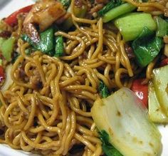 World Recipes: Indonesian mie goreng recipe with chicken and bok choy Indian Food Recipes, Asian Recipes, Healthy Recipes, Mie Goreng Recipe, Dutch Recipes, Cooking Recipes, Mie Noodles, Dean Foods, Good Food