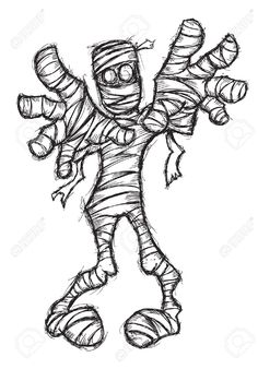 Hand Drawn Zombie Royalty Free Cliparts, Vectors, And Stock ...