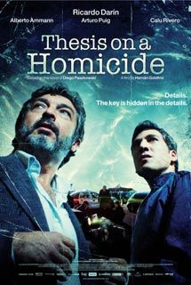 #ThesisonaHomicide - Roberto Bermudez, a specialist in criminal law and... #psychothriller #movies #poster #ricardodarin