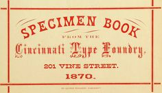 From Harpel's Typograph | Flickr - Photo Sharing!