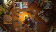 See that book on the right?  Are Frozen's King And Queen  Actually Tarzan's Parents?
