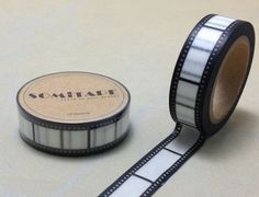 Ruban Masking Tape Film Pellicule Cine Vintage Washi 10M Scrapbooking Scotch | eBay