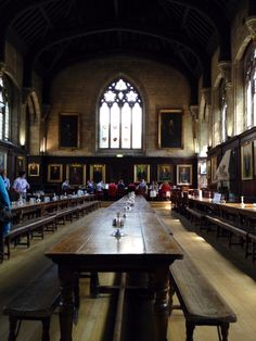 The dining hall at Balliol College, Oxford university. Dorothy L Sayers' Fictional detective, Lord Peter Wimsey attended school here. The room also appears in an episode of Inspector Morse Cambridge, Dorothy L Sayers, Balliol College, Inspector Morse, Oxford England, Maybe Someday, England And Scotland, Leeds, Historical Sites