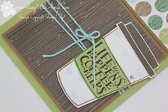 Stampin' Up! Coffee Cafe Coffee Helps Card
