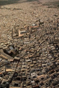 marrakech old medina by the kasba u can see moulay lyazid mosque in this pic