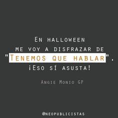 #inspiración #Halloween #quotes #frases