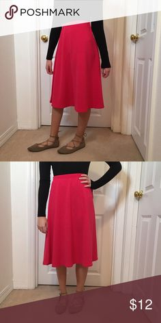 Hot pink circle skirt NWT NWT Pink circle skirt Skirts Circle & Skater