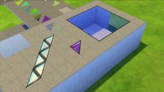 Mod The Sims - Various transparent floor pieces. (updated 7-7-2016)