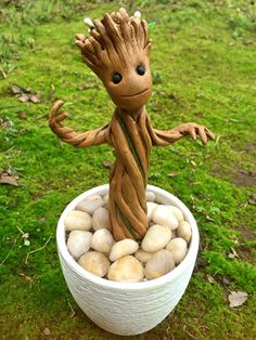 Baby Groot from Guardians of the Galaxy by SculptUCakeToppers