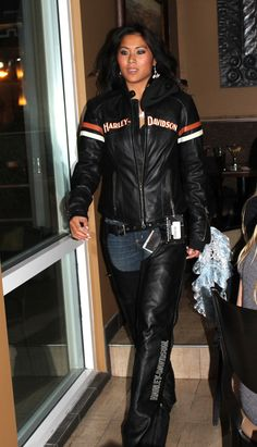 Just for Fun Fashion Show - by Style Strand Fashion; Harley Davidson motorcycle gear
