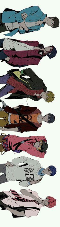 Sosuke|Rin|Makoto|Haruka|Nagisa|Rei