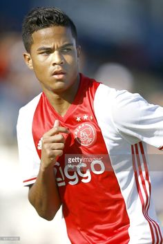 Justin kluivert of Ajax Amsterdamduring the friendly match between Ajax Amsterdam and Excelsior Rotterdam on January 7, 2017 at Estádio da Nora in Albufeira, Portugal.