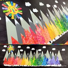 Painted Paper Art - Connecting curriculum and creativity through art.