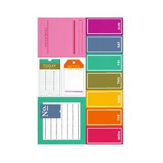 image of clearly kelly sticky notes ps746