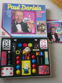 Paul Daniels Magic Set 100 by Peter Pan Playthings 1980s Toys, Retro Toys, Vintage Toys, 90s Childhood, My Childhood Memories, Toy Cupboard, Magic Sets, Retro Gifts, 90s Nostalgia