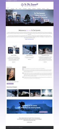 www.ToTheSummit.com Portfolio Website, Web Design, Design Web, Website Designs, Site Design