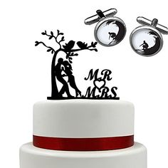 Wedding Acrylic Cake Topper Personalized lover under the tree cake topper birthday cake topper