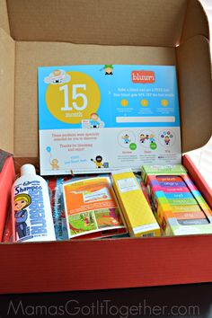 15 Month Bluum Box Review- Monthly Box of Goodies for Mama & Baby
