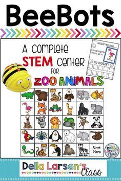 BeeBot Zootiere - Back to School In Kindergarten - Tiere Teaching Kids To Code, Have Fun Teaching, Teaching Math, Fun Learning, Teaching Resources, Kindergarten Readiness, Kindergarten Classroom, Classroom Ideas, Handwriting Activities